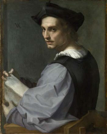 Painting by Andrea del Sarto.